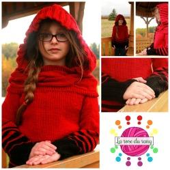 Tourbillon à capuchon || Twisted hoodie