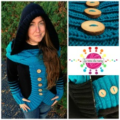 Cardigan tourbillon || Twisted Cardi