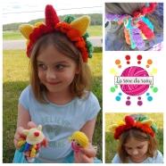 Bandeau licorne || Unicorn headband