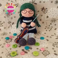 La petite marchande de laine || Little yarn seller